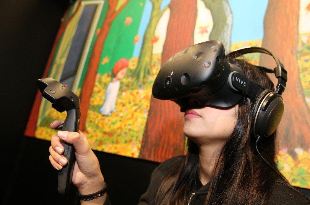 宏達電申請大陸製的「VIVE VR裝置使用的遙控器具」輸台,上月獲得經濟部審查會...