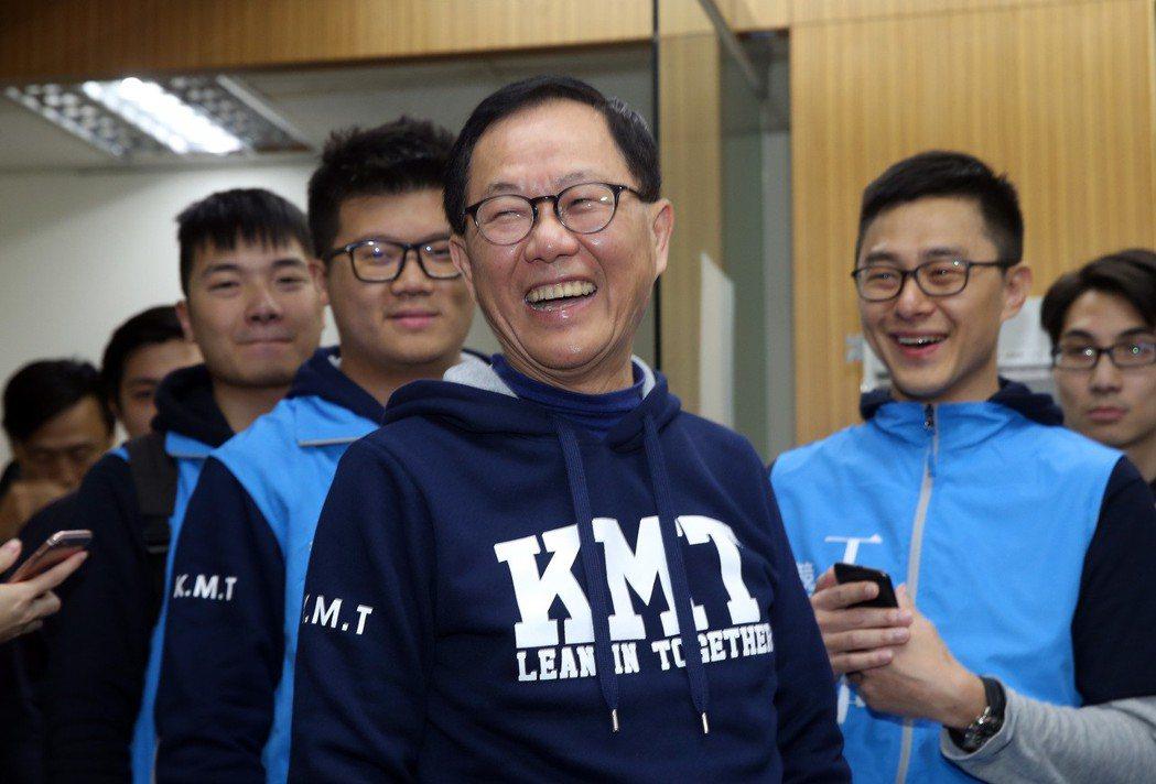 國民黨台北市長擬參選人丁守中。 圖/聯合報系資料照片