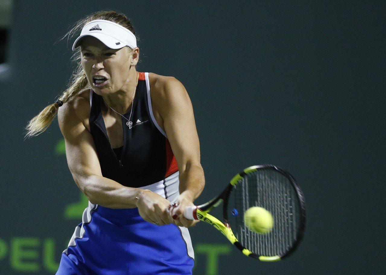 參加邁阿密網賽的伍茲妮雅琪說受到觀眾死亡威脅。 美聯社