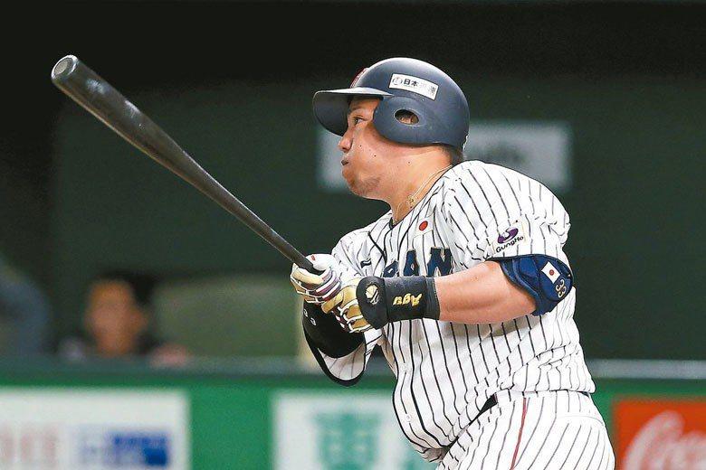 山川穗高在亞冠賽擔任日本隊第四棒,本季也可望成為西武獅隊的中心打者 聯合報系資料...