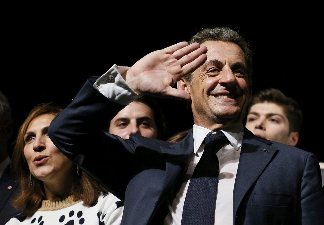 「為了救法國」打算再戰2017年法國總大選的薩科奇。 圖/歐透社