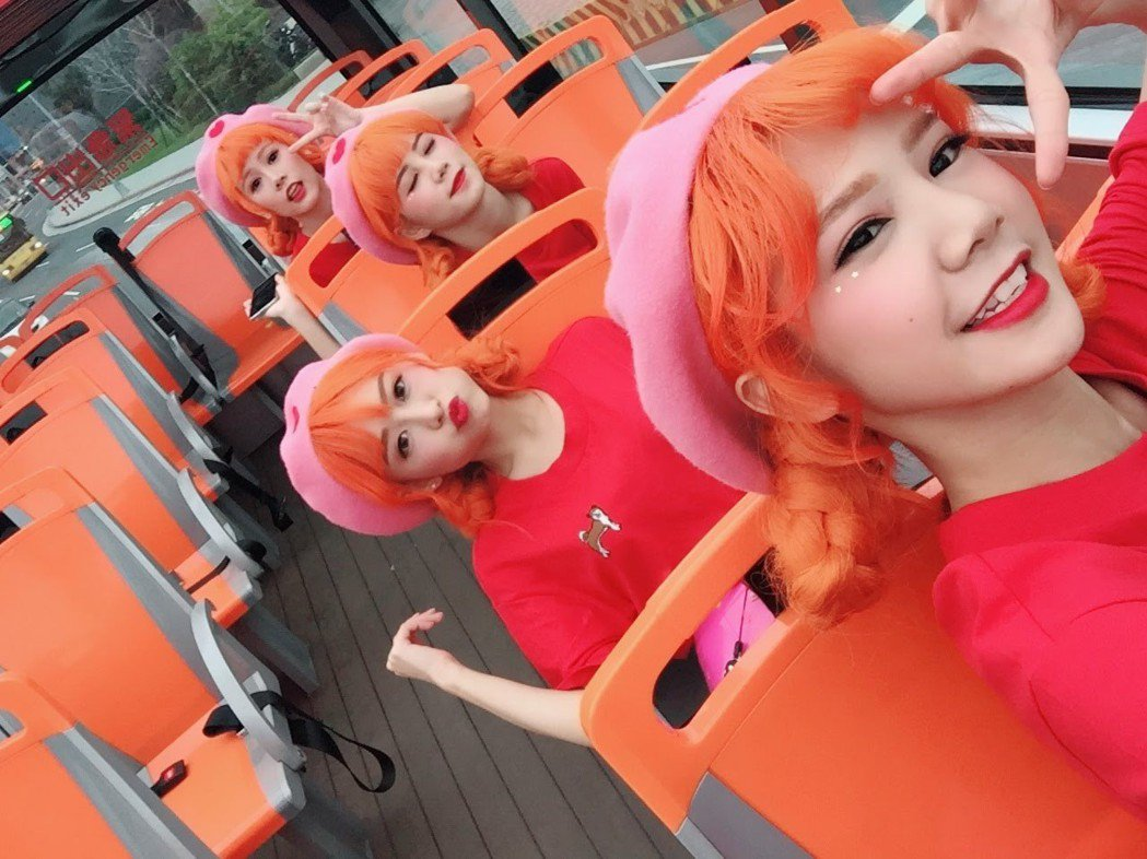 「AMOi-AMOi」在台北各地取景。圖/RED PEOPLE提供
