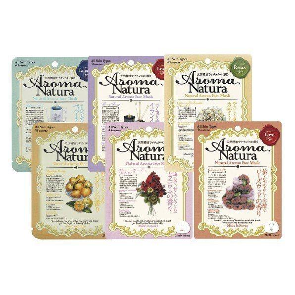Aroma Natura天然精油保濕面膜單片裝,售價39元。圖/Tomod's提...