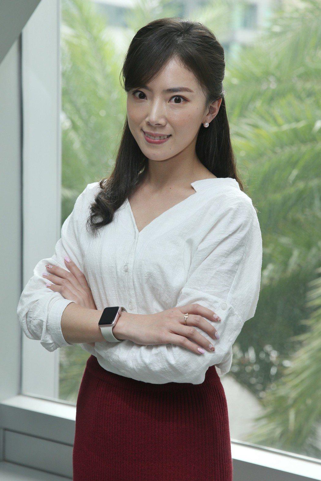 八大主播馬湘瑩專訪。記者林伯東/攝影