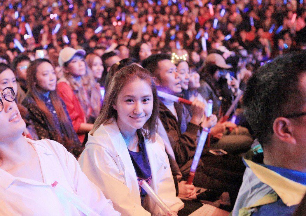 鄧紫棋今天在林口體育館舉辦台北最後一場演唱會。圖/IME提供