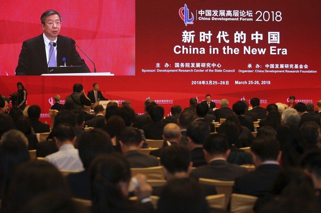 中國人民銀行新任行長易綱 美聯社