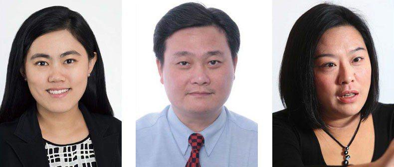 承天吟(左)馬偉宜(中)陳亭如(右)