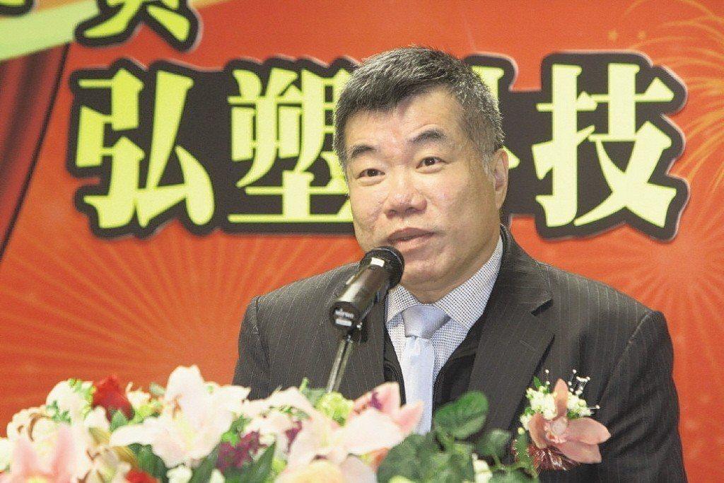 弘塑董事長張鴻泰。 報系資料照
