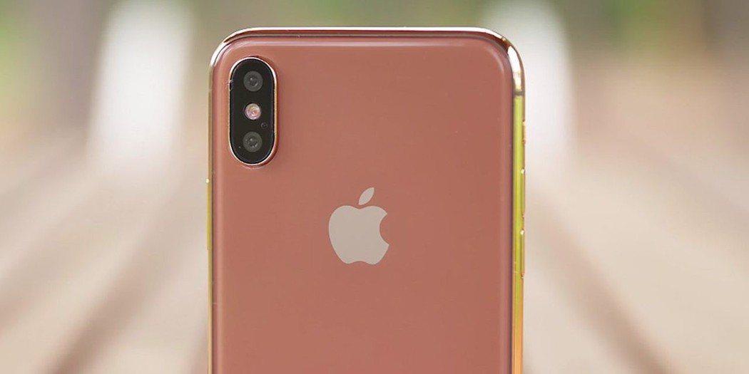 圖疑為iPhone X的新色腮紅金(blush gold)。圖擷自科技網站9to...