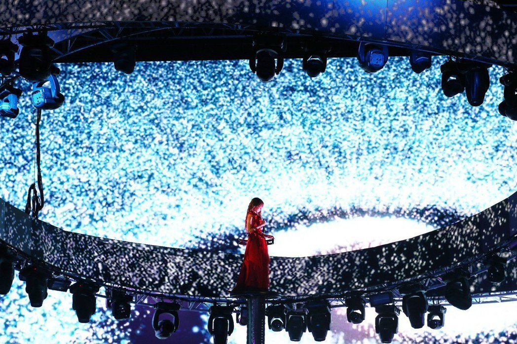 圖為陳綺貞「時間的歌」巡迴演唱會。聯合報系資料照/記者劉學聖攝影