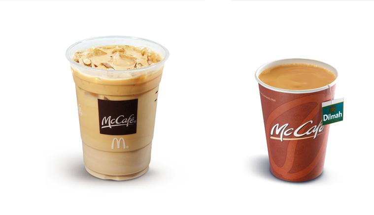 麥當勞公告焦糖奶茶停售。圖擷自麥當勞官網