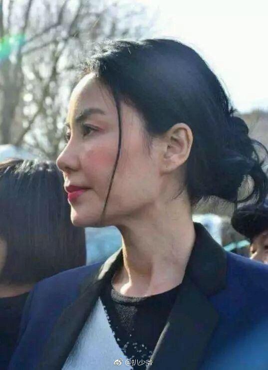 圖為網友近日近距離拍攝王菲的照片。 圖/擷自微博
