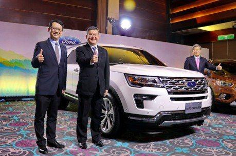 強化休旅陣容 Ford將導入Explorer及小改款EcoSport
