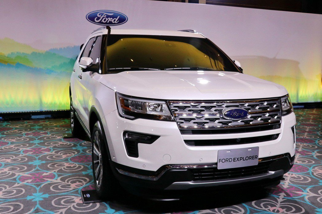 Ford Explorer 7人座休旅車原本預計會在2018年底登台。 記者陳威...