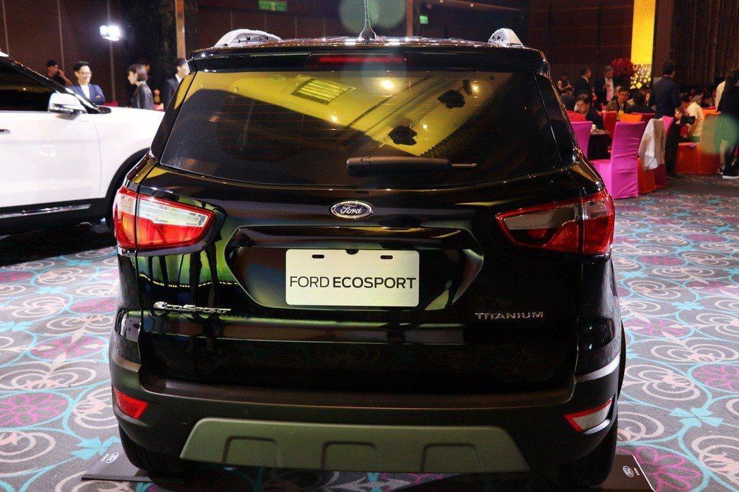 Ford EcoSport這次也確定將取消備胎設計。 記者陳威任/攝影