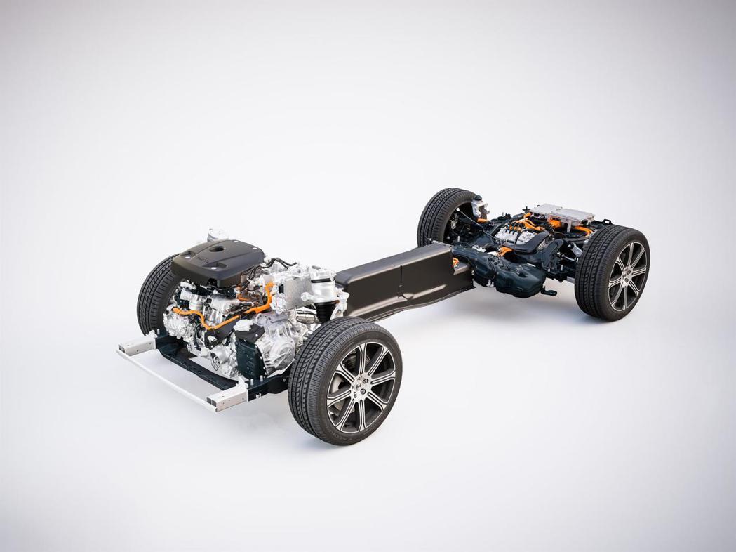 Volvo T8動力系統。 圖/Volvo提供