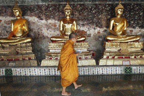佛教是泰國的重要象徵,但到底什麼是泰國佛教? 圖/美聯社