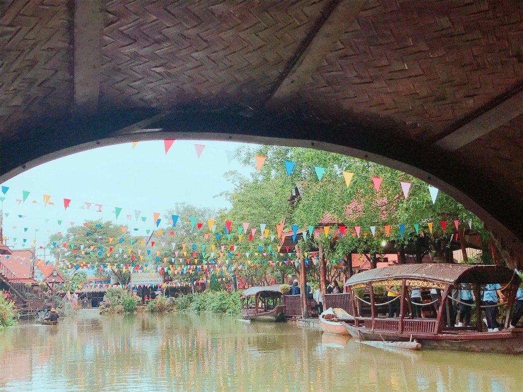 ▲泰國大城水上市場。(圖/Tripbaa趣吧!達人帶路)
