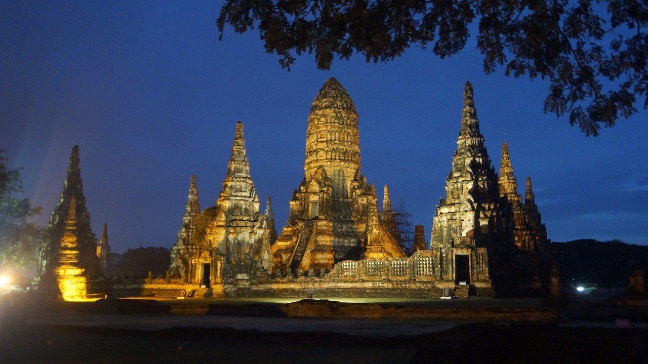 ▲泰國大城夜景。(圖/Tripbaa趣吧!達人帶路)