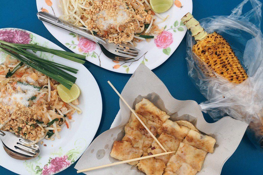 ▲泰國大城夜市小吃。(圖/Tripbaa趣吧!達人帶路)