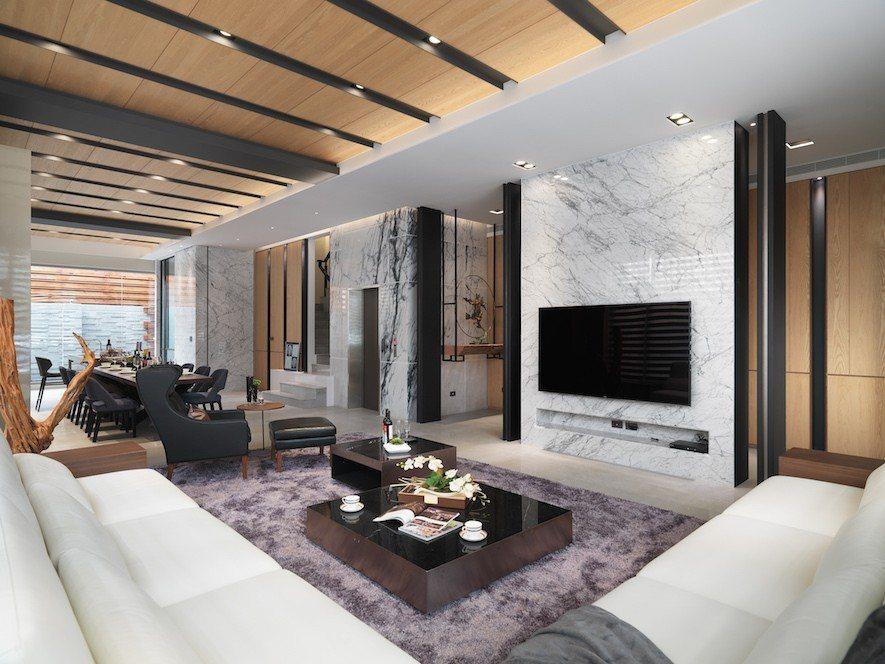 (圖)竹村空間設計 住宅設計作品《文守閣》