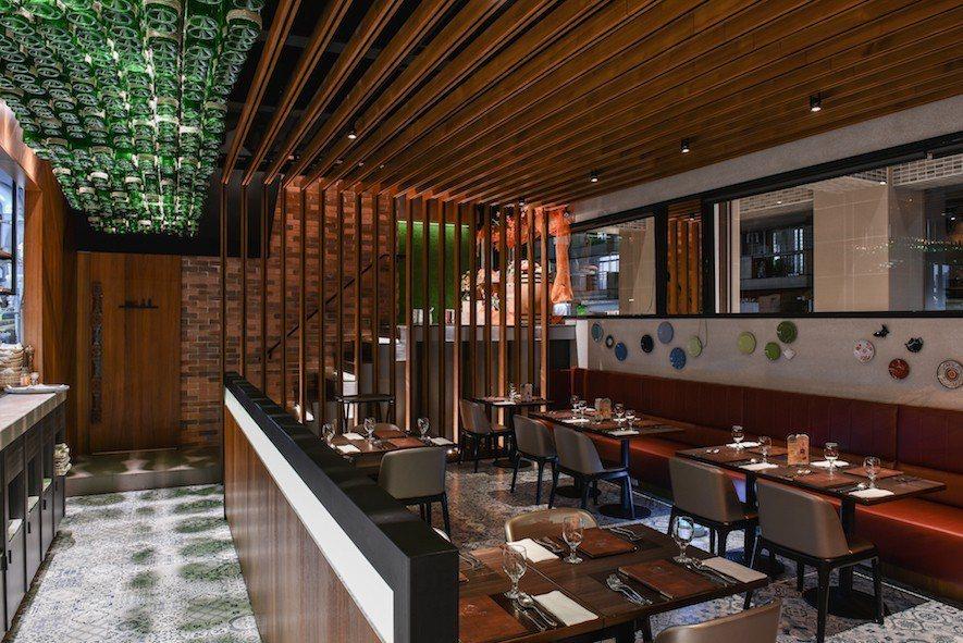 (圖)竹村空間設計 餐館設計作品《JONE餐酒館》