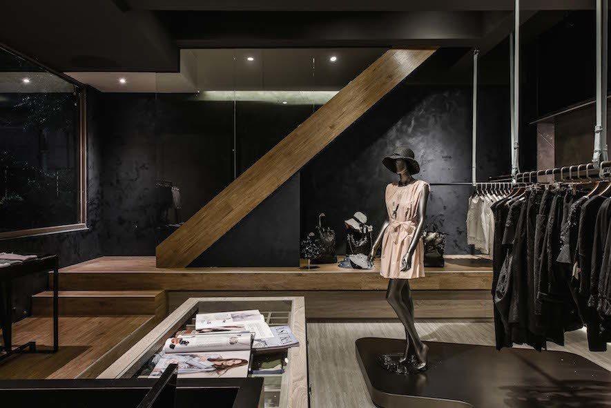 (圖)竹村空間設計 商業空間設計作品《ROSSI》
