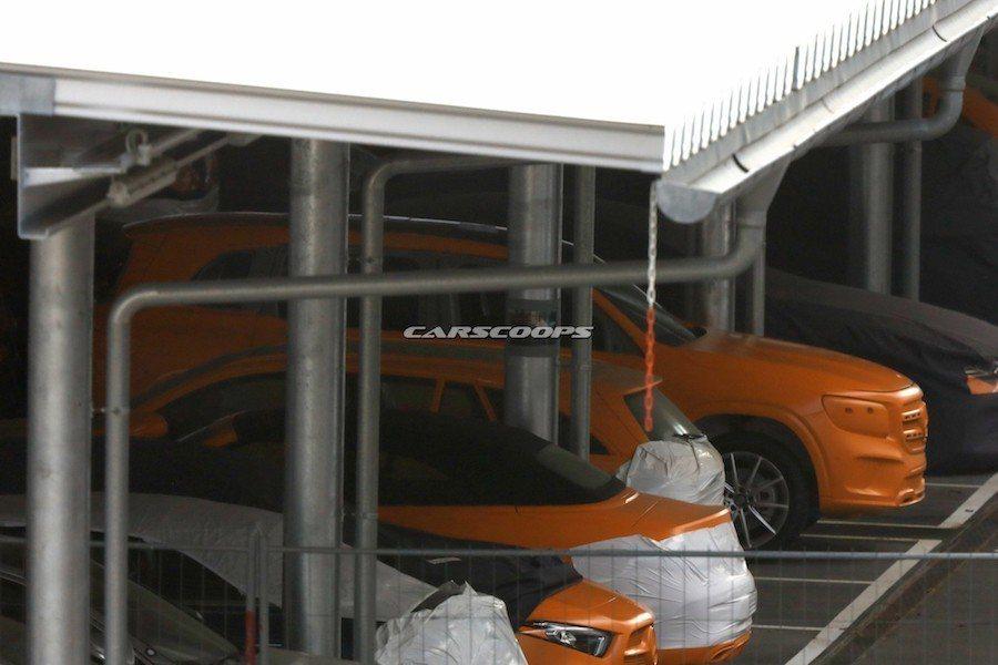 MFA2模組化平台所打造的GLB,會以家庭導向。 摘自Carscoops.com