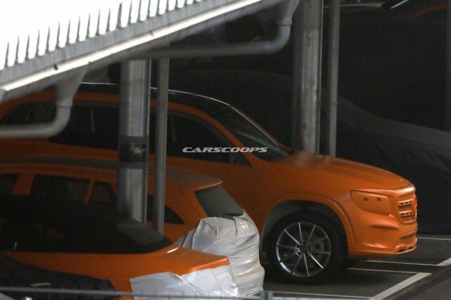 全新Mercedes-Benz GLB車系預計會在2019年發表。 摘自Cars...