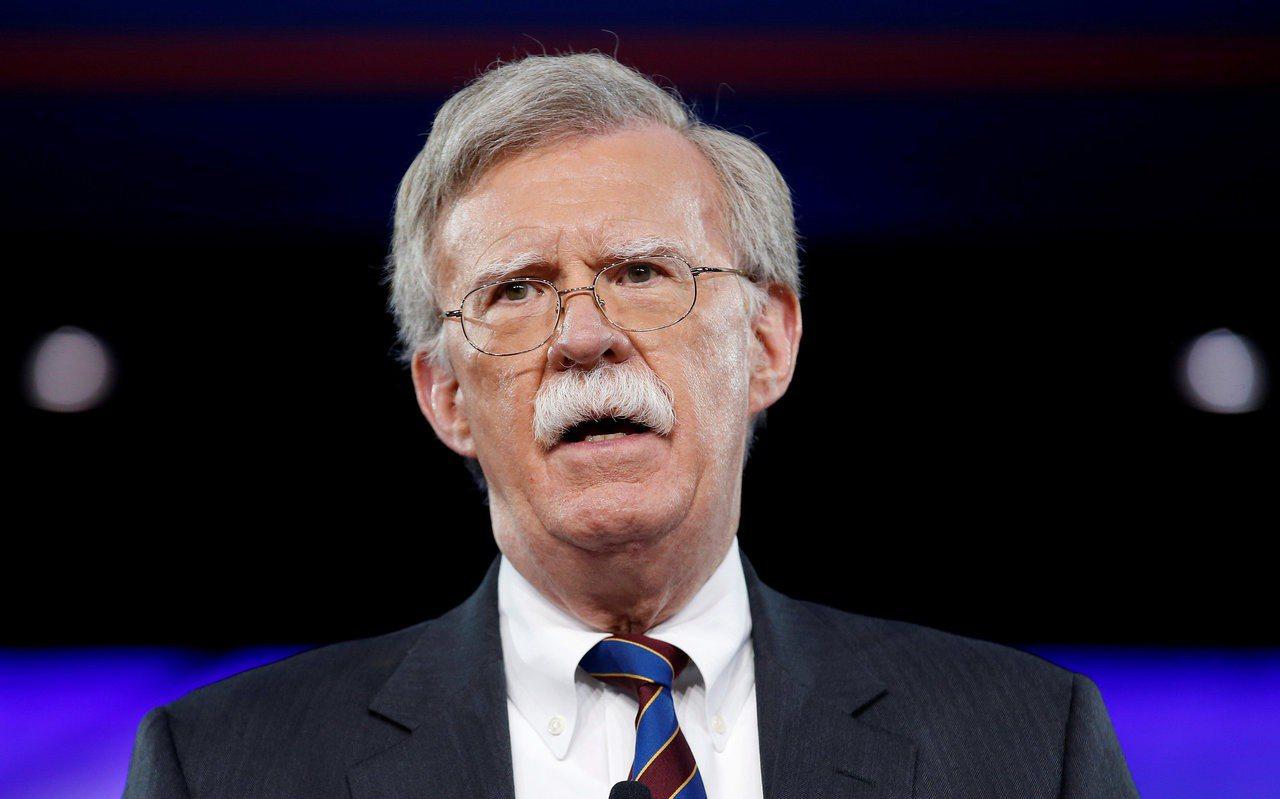 即將出任美國白宮國家安全顧問的波頓。路透