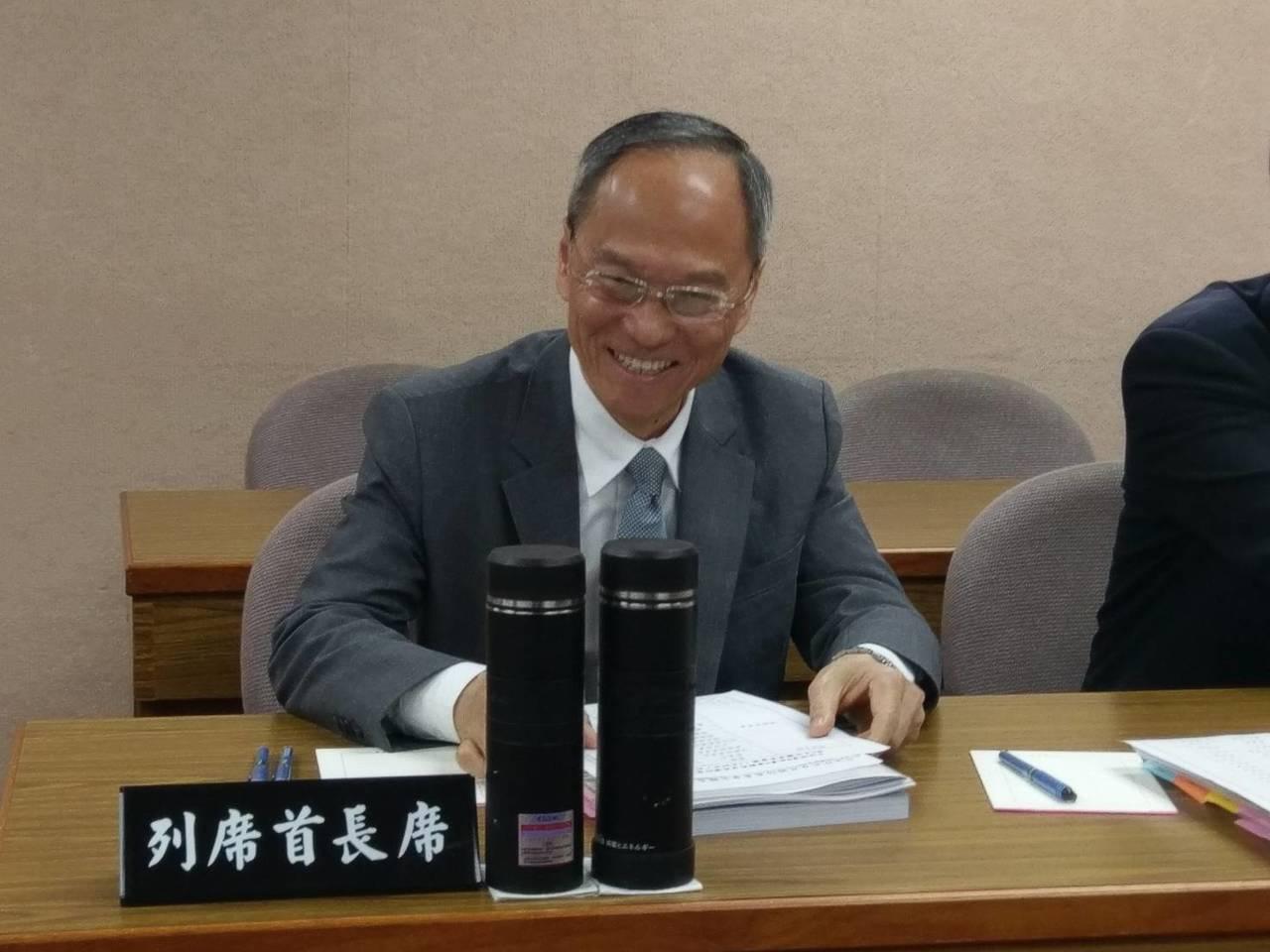 僑委會委員長吳新興。記者徐偉真/攝影