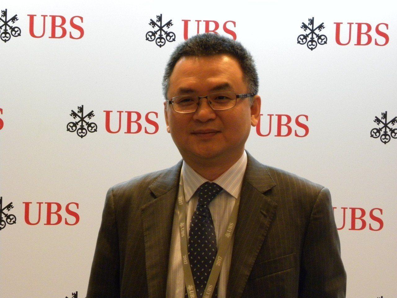 瑞銀證券中國首席策略分析師高挺。記者林則宏/攝影