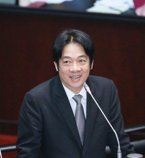 行政院長賴清德。 記者陳柏亨/攝影