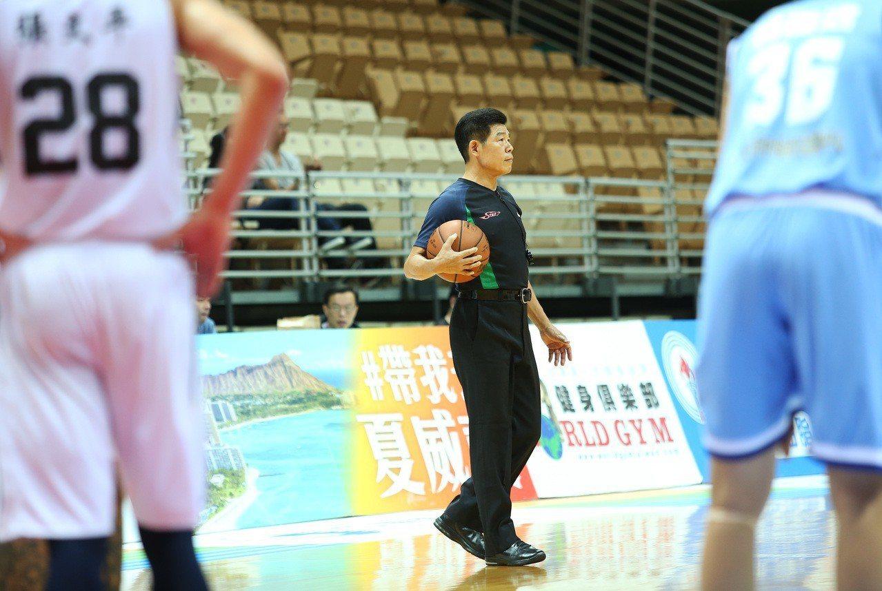 熊光興裁判往後將不得在SBL執法。 中華籃協提供