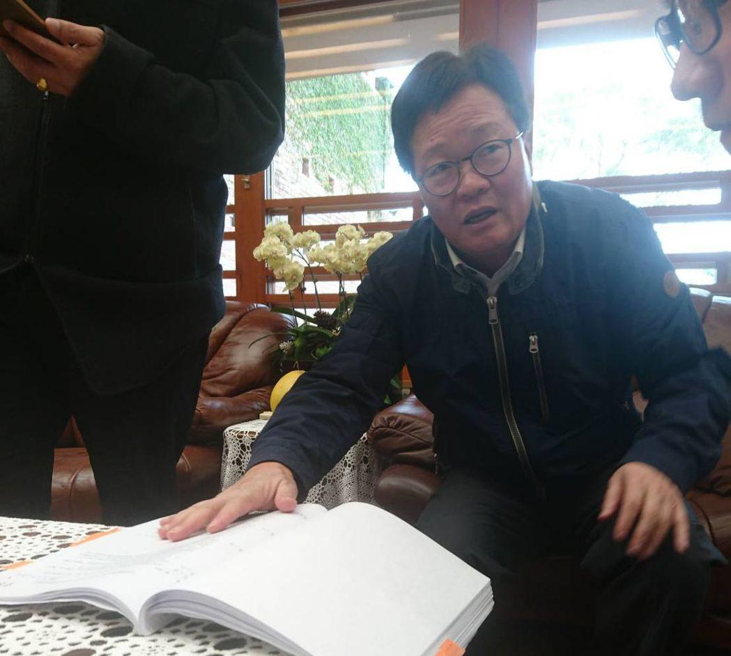 陳金德去年11月起代理宜蘭縣長,幾乎一月一話題。 圖/聯合報系資料照片
