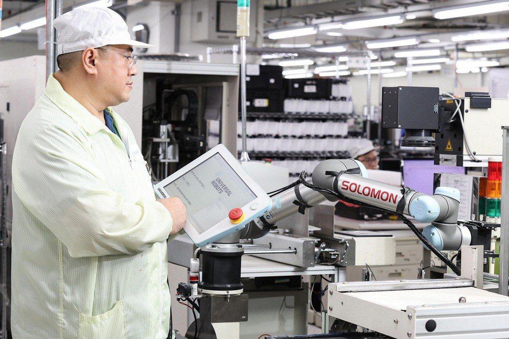 UR機器人手臂編程容易,工程師可輕易地重新設計UR機器人手臂的程式,彈性調整生產...