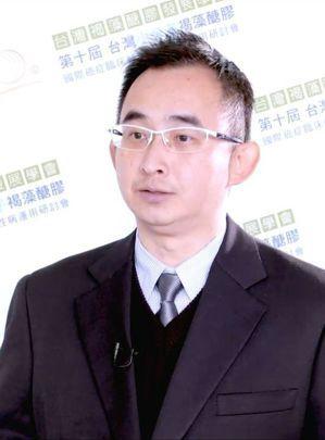 中國文化大學生物科技研究所副教授林彥昌。 台灣褐藻醣膠發展學會/提供