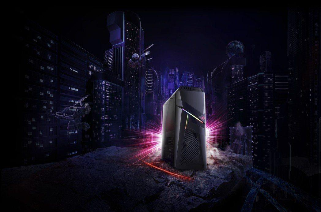 華碩擴大電競產學合作,推出新一代電競桌機ROG Strix GL12。 華碩/提...