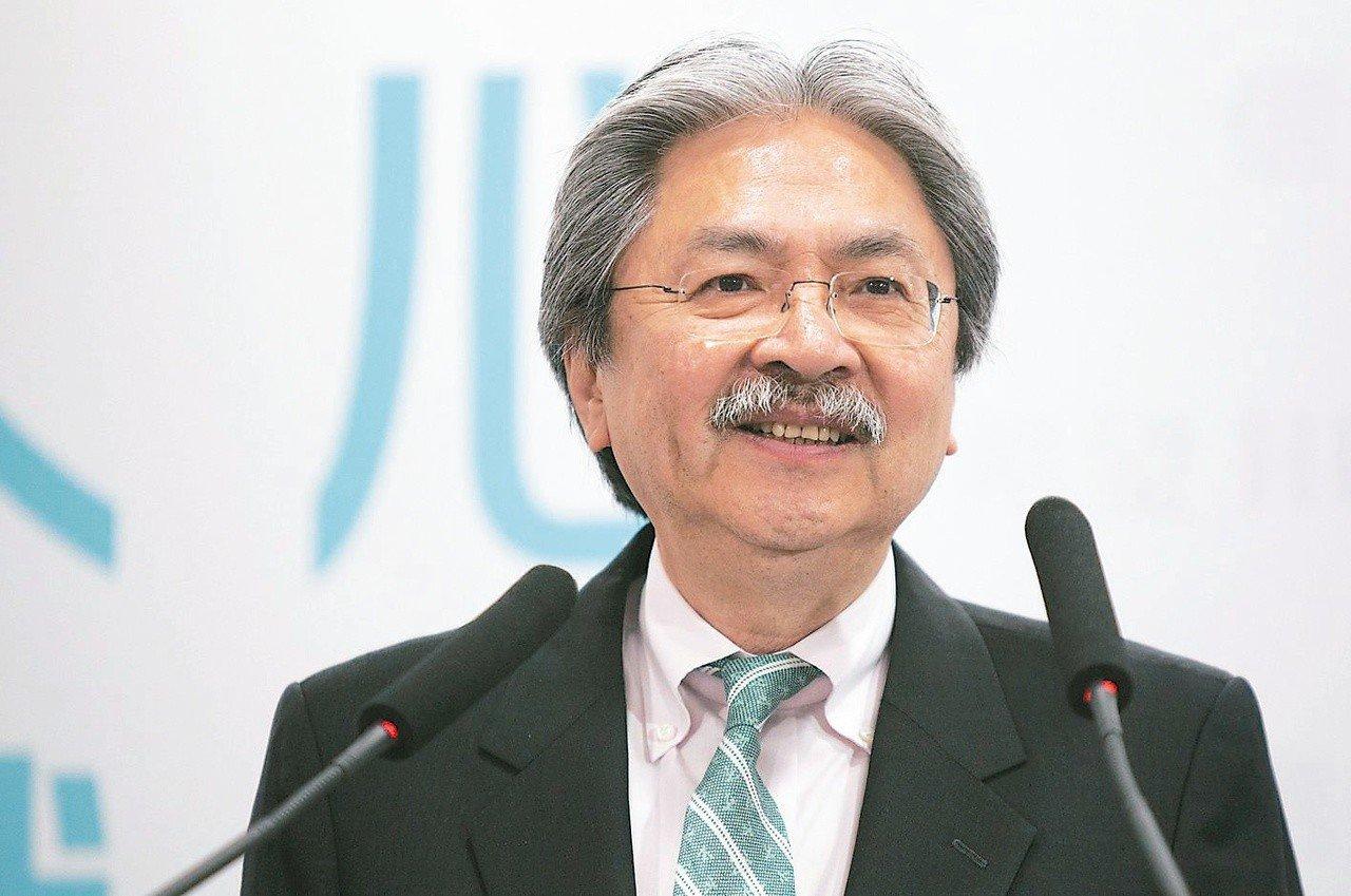 前香港財政司長曾俊華。歐新社