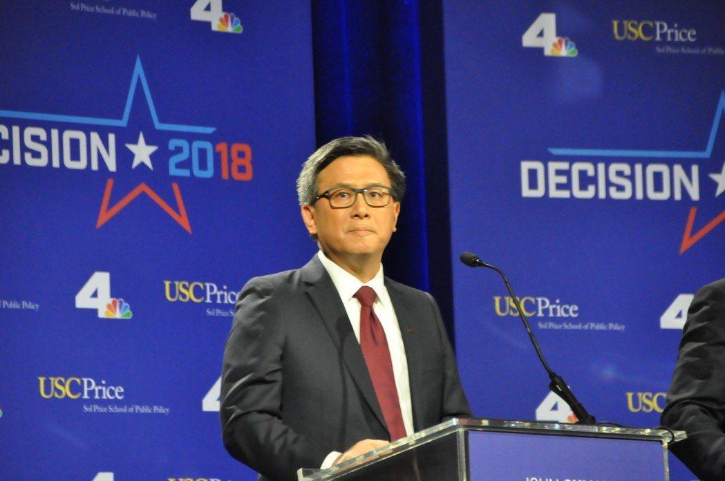 美國加州州長的競選正如火如荼的進行,包括眾多華裔民眾支持的州財務長江俊輝)在內的...