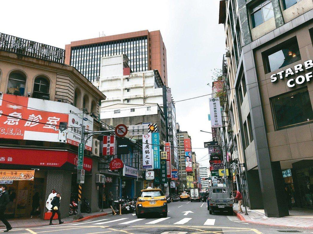 台北車站商圈。 記者游智文╱攝影