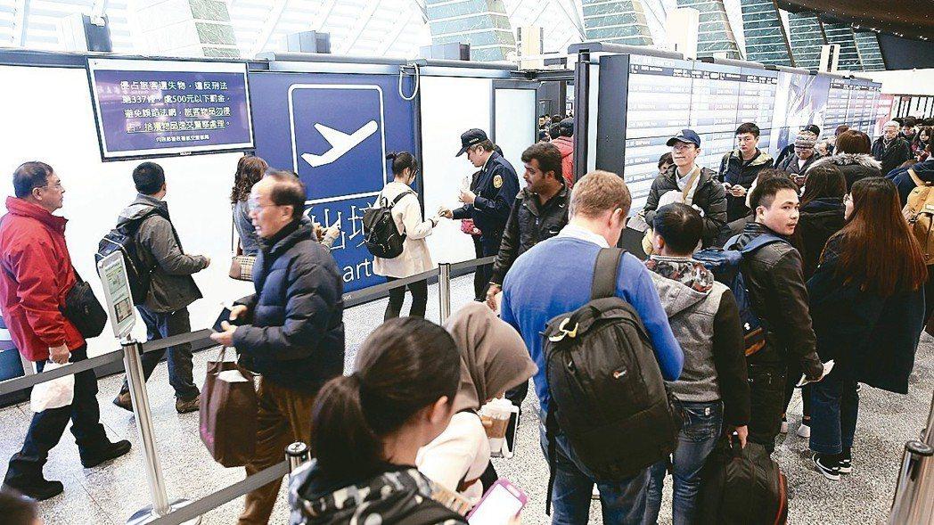 國際機場協會(ACI)剛公布的2017年國際機場服務品質調查成績,桃園機場在旅運...