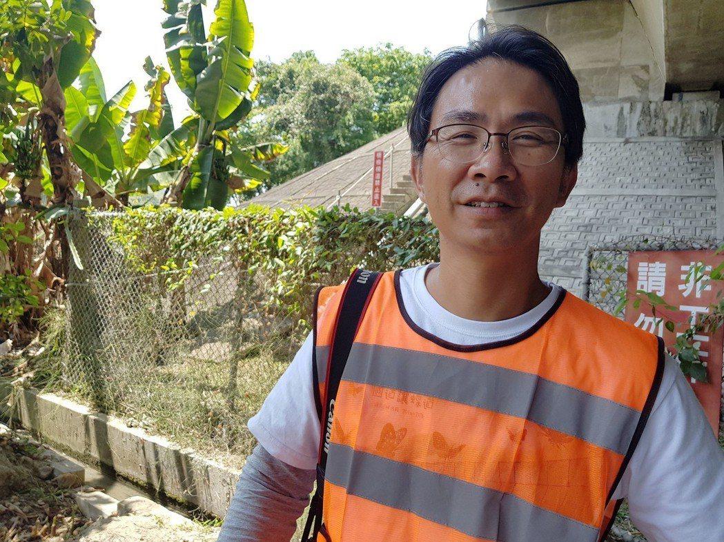 台灣紫斑蝶生態保育協會副理事長陳瑞祥(圖)27日表示,3月中旬以來,連日天氣晴朗...