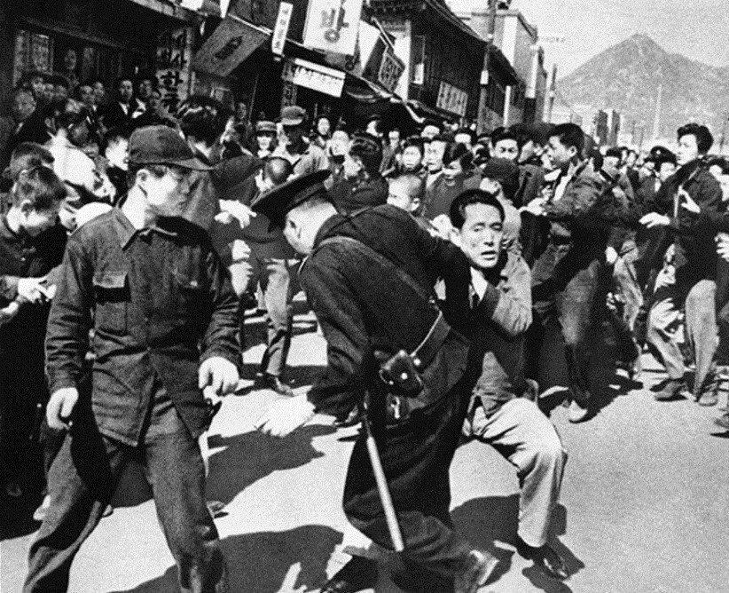 南韓建國總統李承晚執政末期,因爆發大選舞弊,引爆流血學運而被推翻,這就是「419...