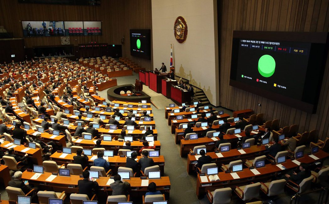 青瓦台認為,目前總統任命總理時,須交國會表決同意,已有牽制的意味存在,若總理交由...