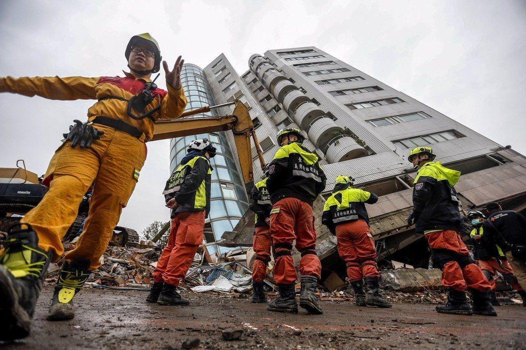2016年台南地震促成災害防救法的修法,兩年後的花蓮地震,正是我們檢視災防法修法...