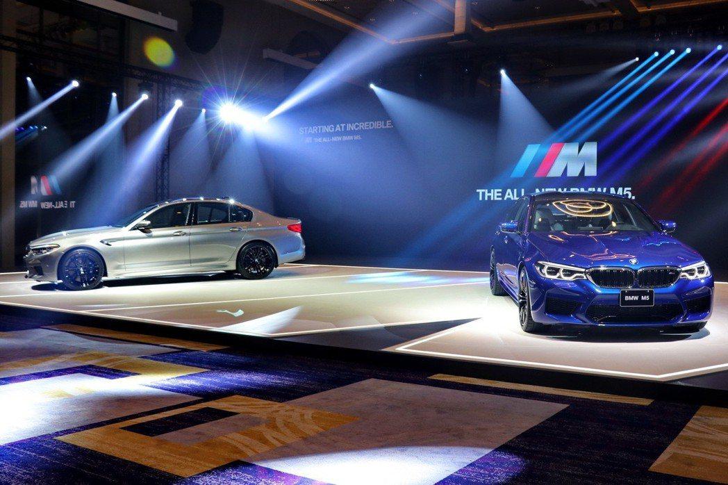 全新BMW M5正式在台上市。 記者陳威任/攝影