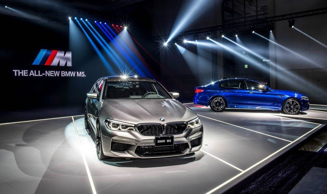 全新BMW M5 Racing Package。 圖/汎德提供