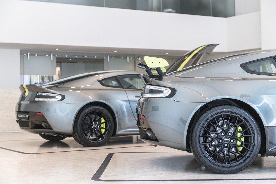 Vantage AMR V8車型全球限量200台; Vantage AMR V12 車型僅提供 100台。 永三汽車提供