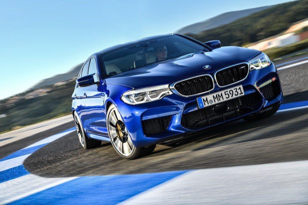 全新BMW M5。 圖/汎德提供